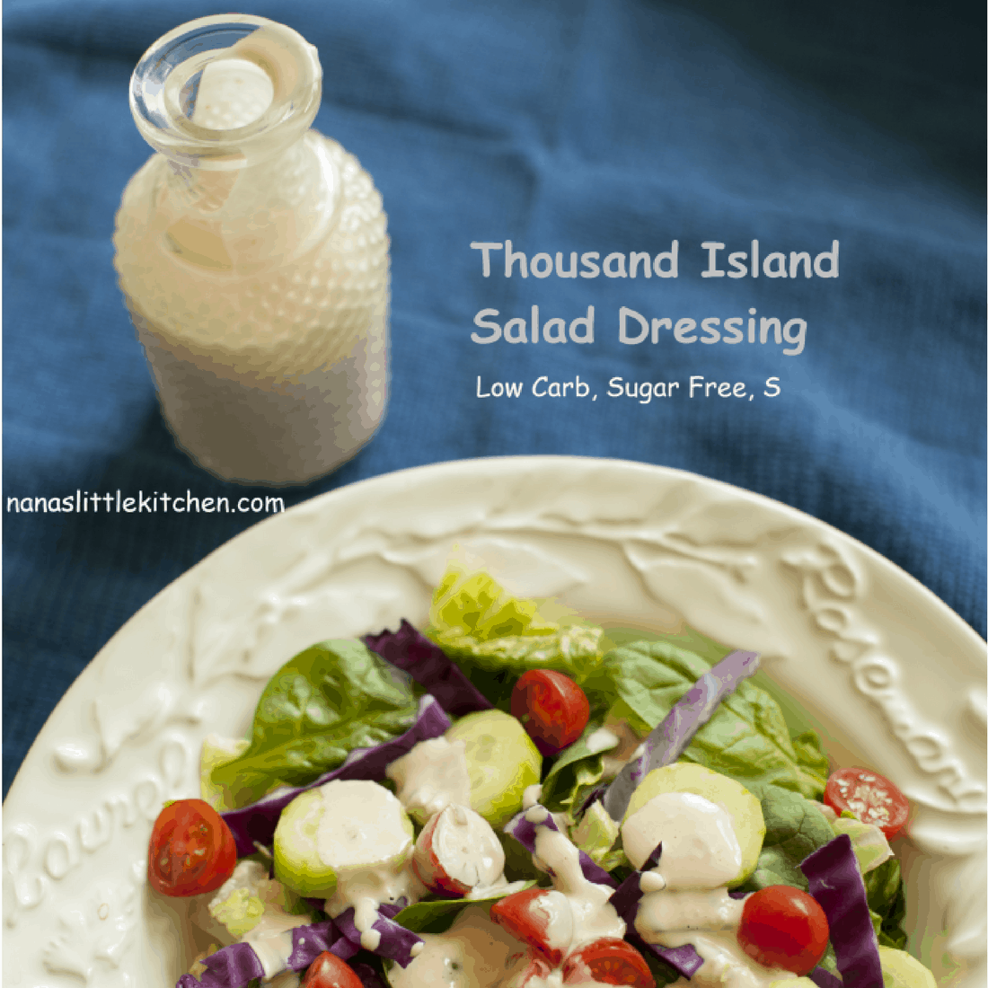 Thousand Island Salad Dressing (Sugar Free, S)