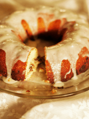 Cinnamon Bundt Sock It To Me Cake