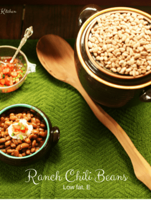 Low Fat Ranch Chili Beans