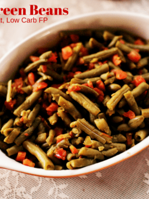 Simple Green Bean Side Dish