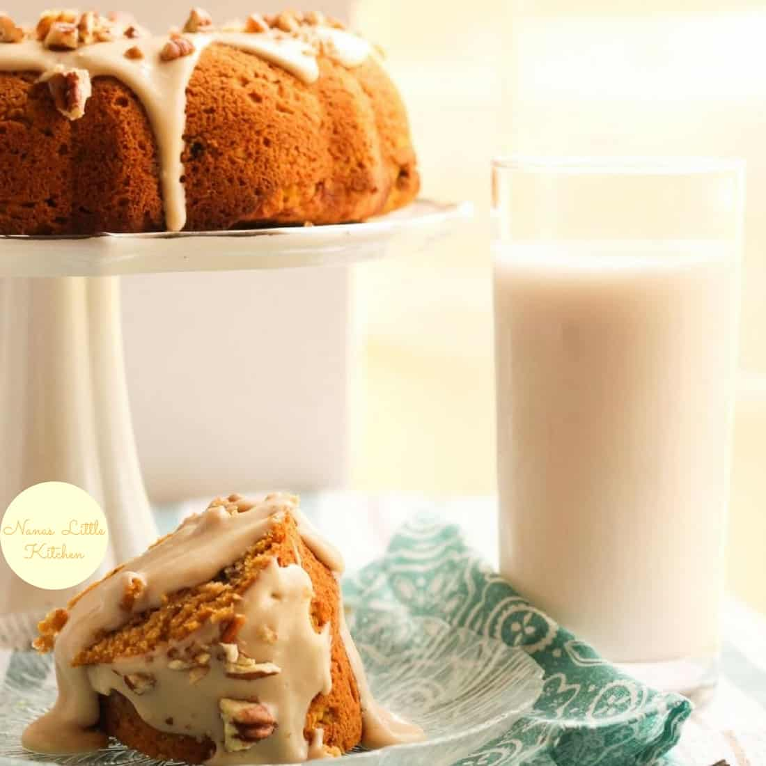 Pumpkin Maple Spice Cake