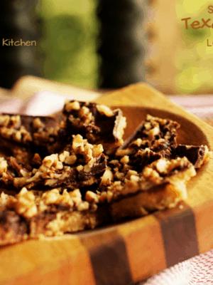 Texas Toffee Bars (Low Carb, Sugar Free, S)
