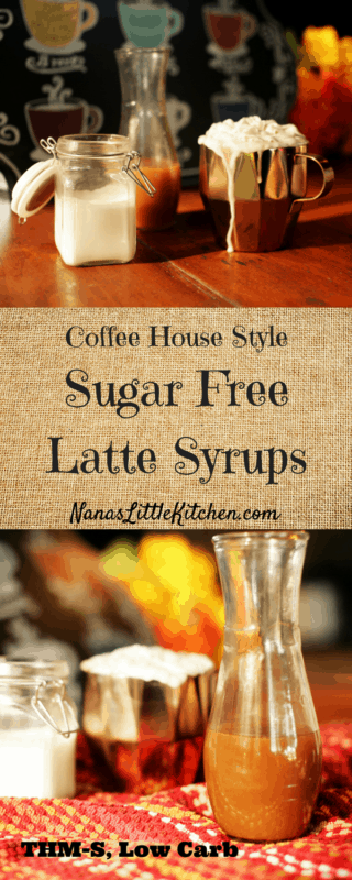 Sugar Free Coffee House Syrups