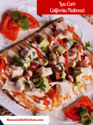 Low Carb California Flat Bread