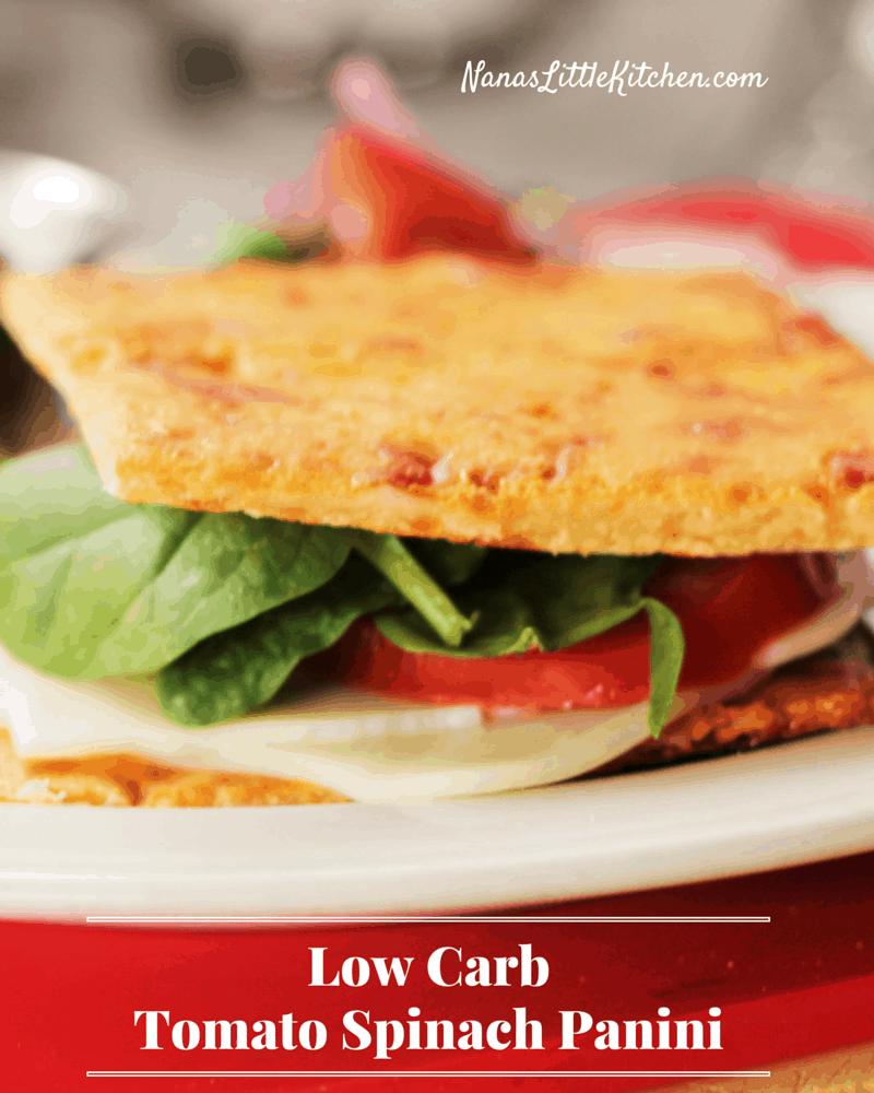 Tomato Spinach Panini