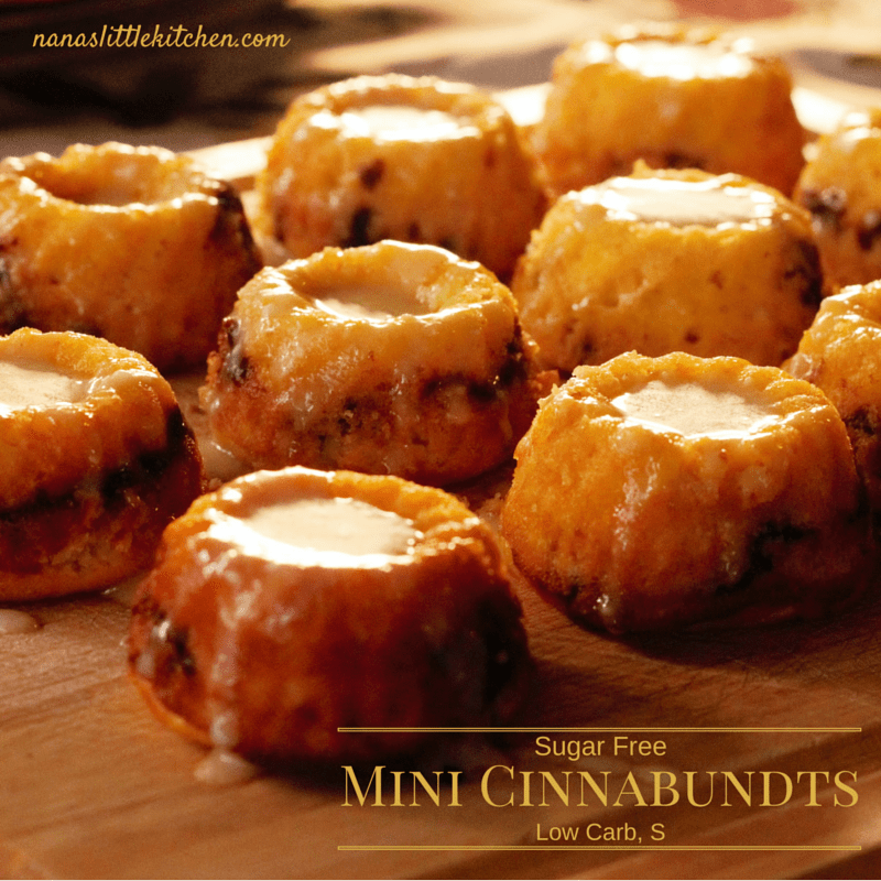 Sugar Free Mini Cinnabundts