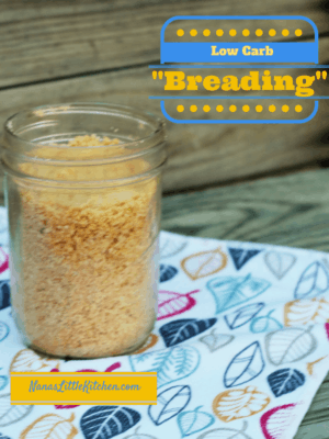 Tasty Low Carb Breading