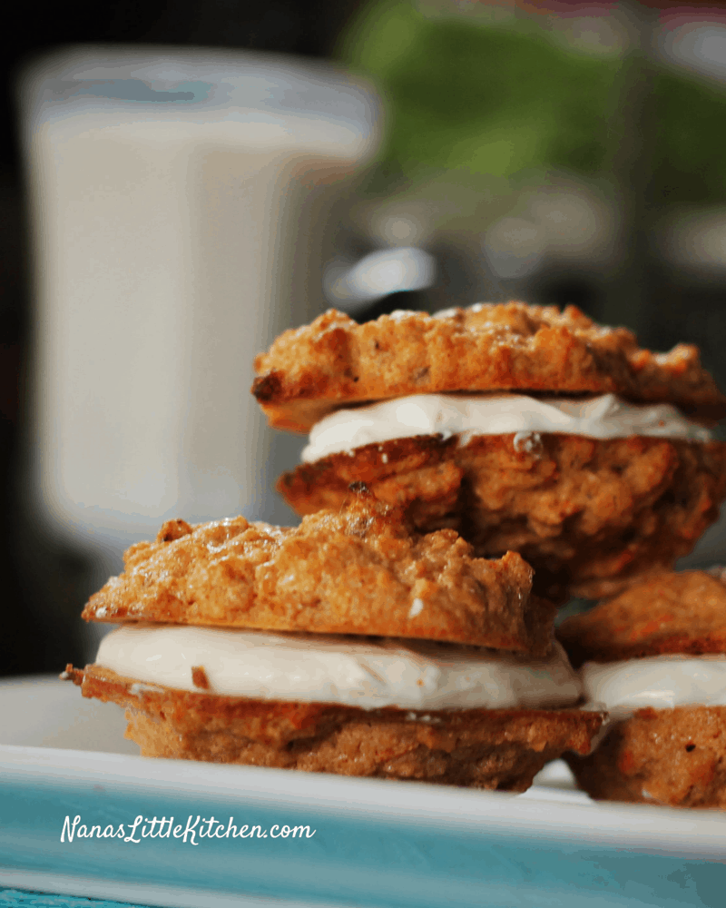 Sugar Free Carrot Cake Cookies