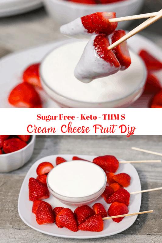 Sugar Free Cream Cheese Dip