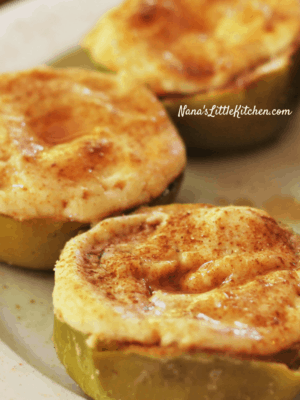 Cinnamon Apple Cheesecakes