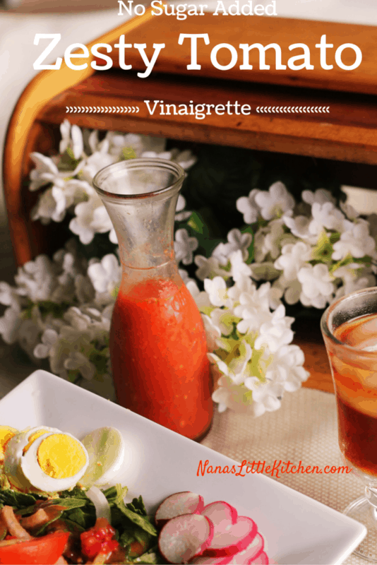 Tomato Salad Dressing Pinterest use!