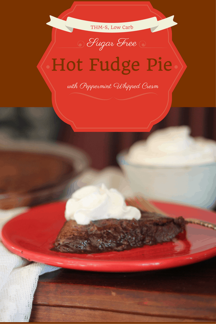 Sugar Free Hot Fudge Pie