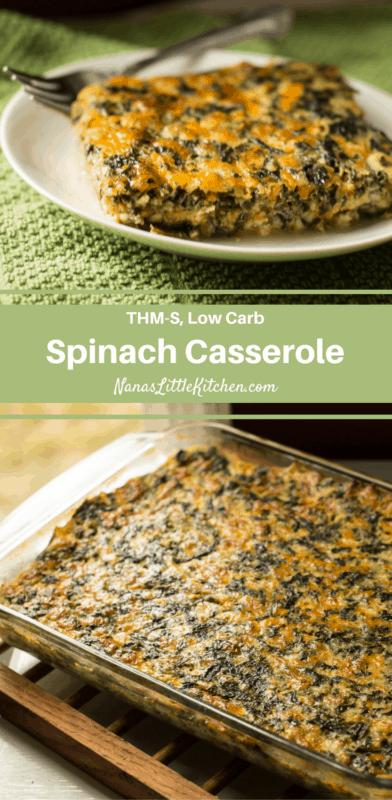 Kristen's Versatile Spinach Casserole