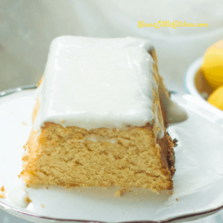 Sugar Free Copycat Starbucks Lemon Loaf is a tangy, sweet, pound cake that tastes so good you have to remind yourself that it's low carb and sugar free.