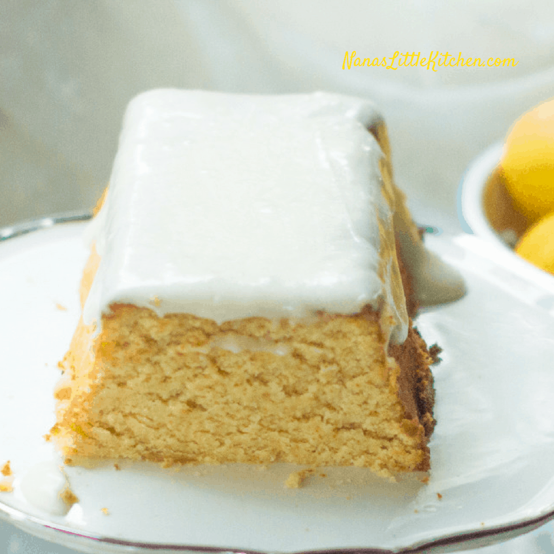 Sugar Free Copycat Starbucks Lemon Loaf