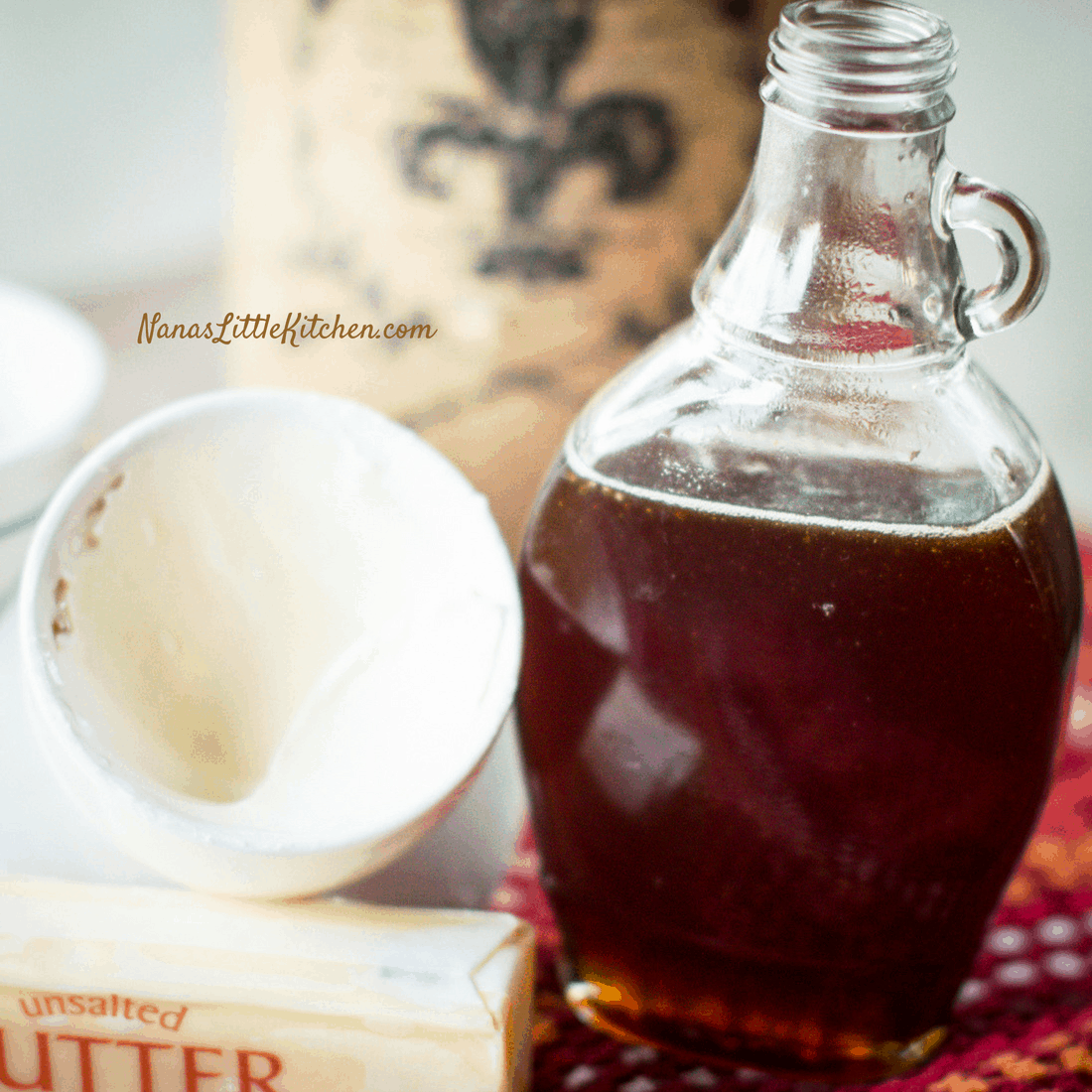 Rich Buttered Sugar Free Maple Syrup