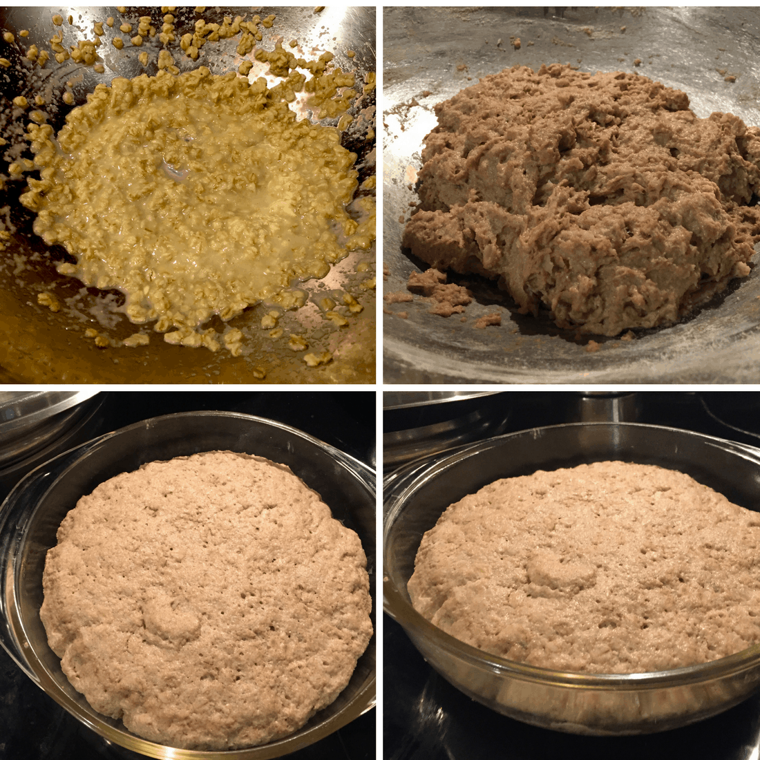 No Knead Oatmeal Batter Bread