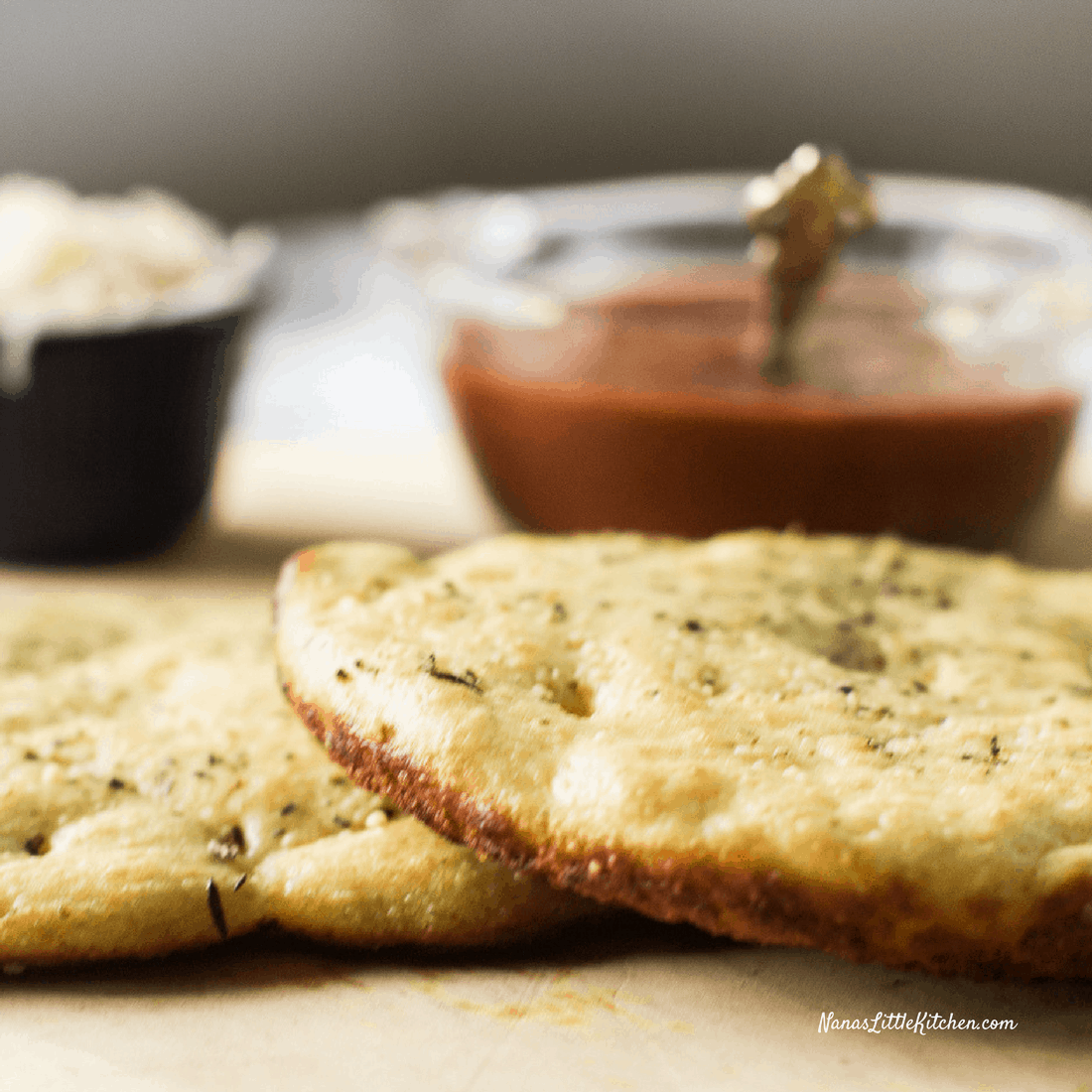 Low Carb Personal Pan Pizza Crusts
