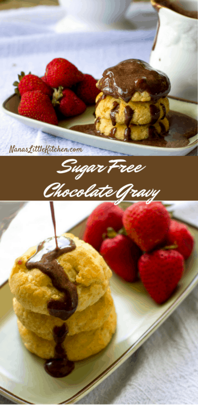 Easy Sugar Free Chocolate Gravy
