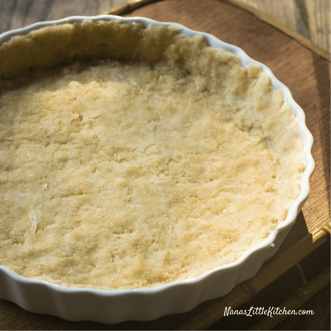 Lighter Low Carb Pastry Crust