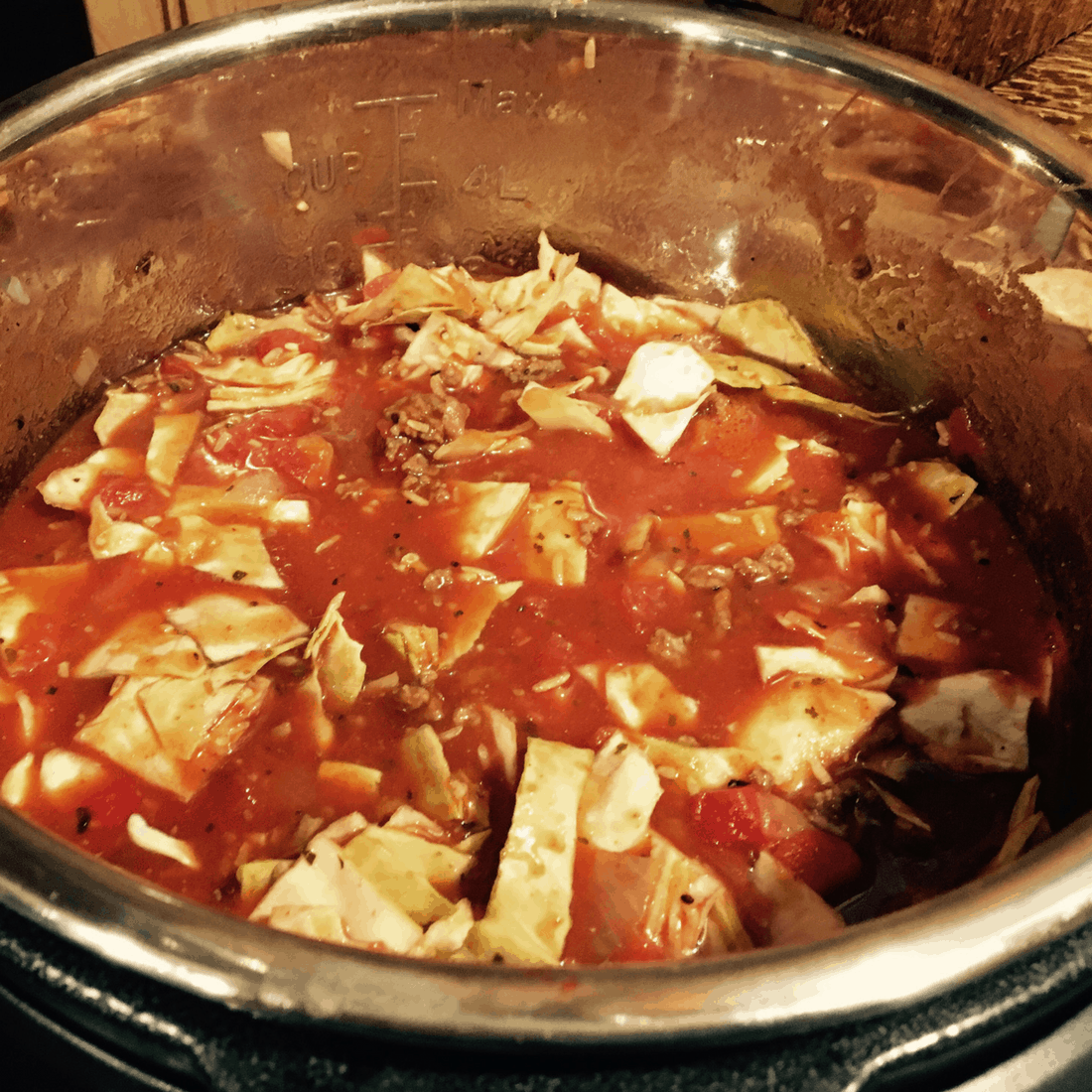 Low Fat Cabbage Roll Soup