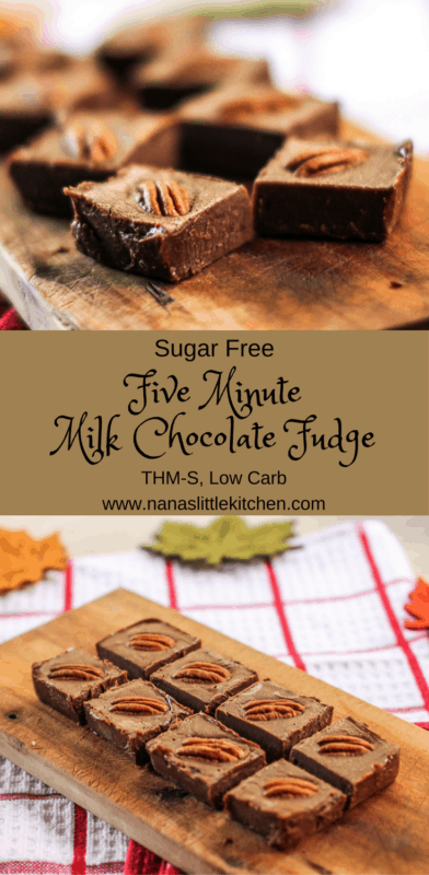 Five Minute Milk Chocolate Fudge