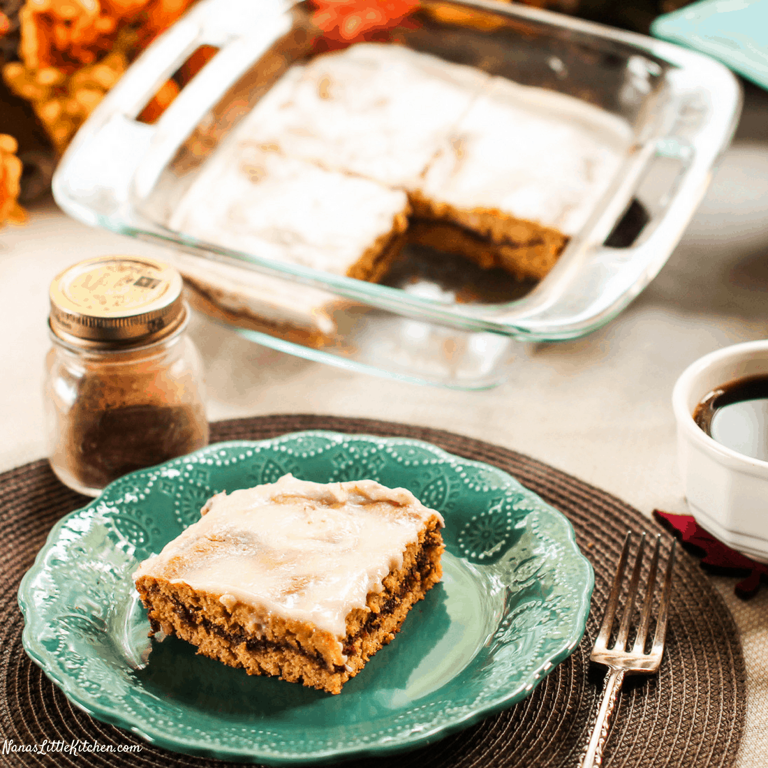 Pumpkin Honey Bun Snack Cake