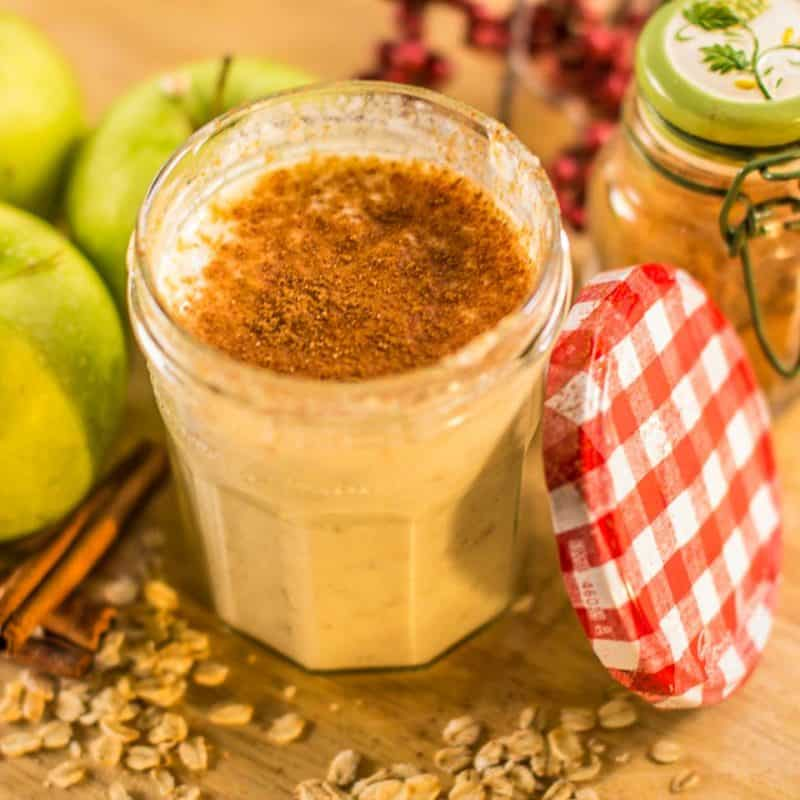 Cinnamon Apple Overnight Oats