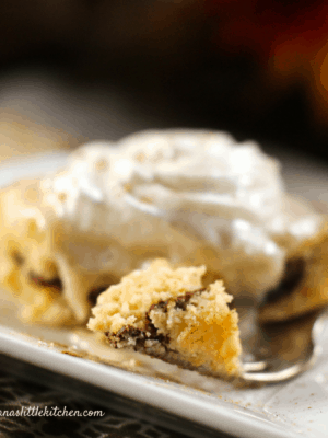 Sugar Free Honey Bun Cake