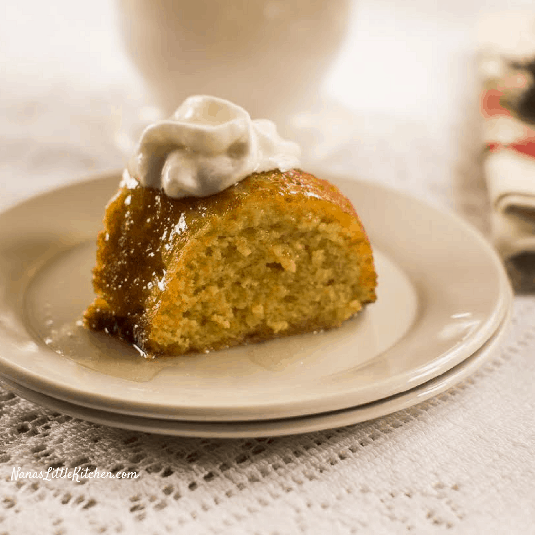 Sugar Free Buttered Rum Cake