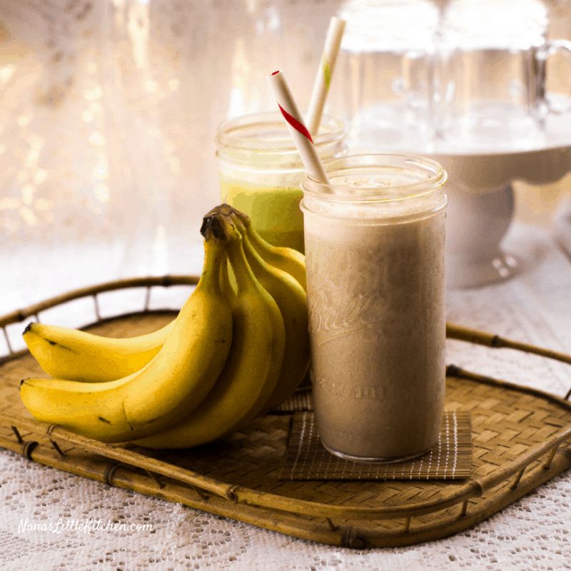 Low Fat Banana Bread Smoothie