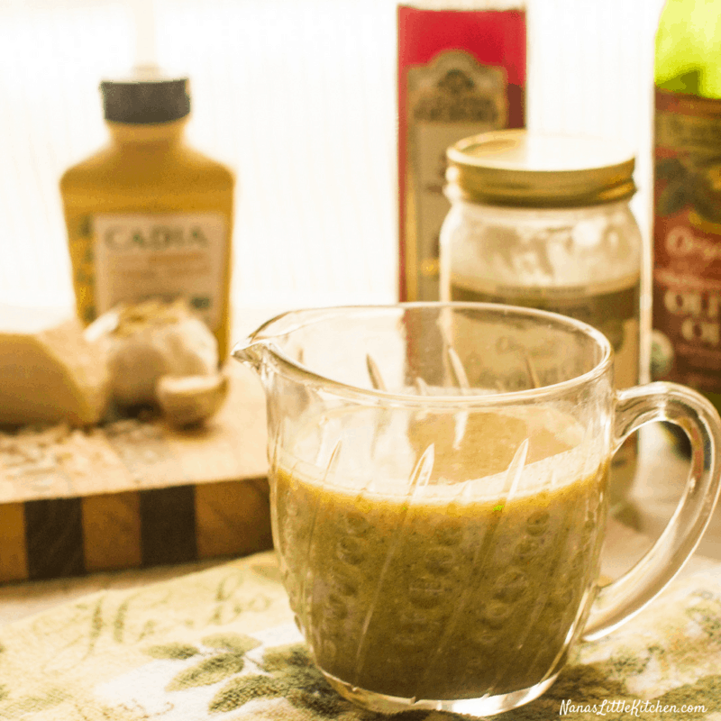 Low Carb Creamy Italian Dressing
