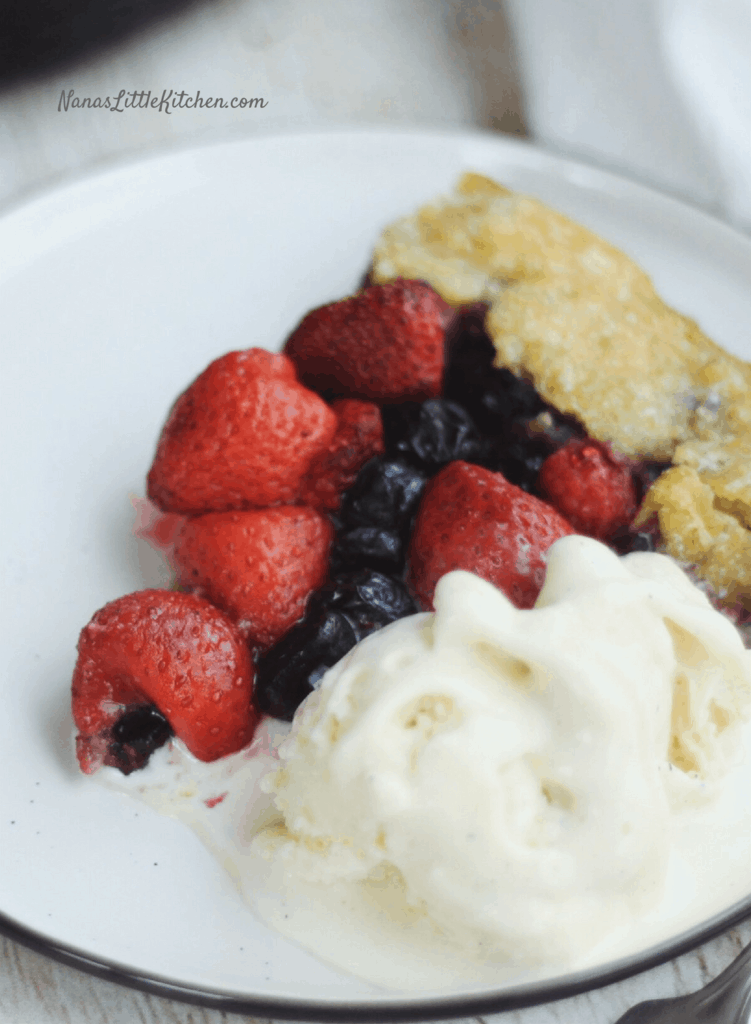 Mixed Berry Tart THM-S Low Carb