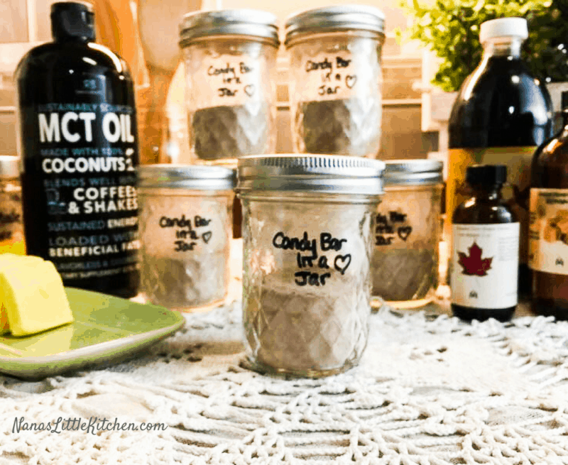 Candy Bar in a Jar THM S Low Carb