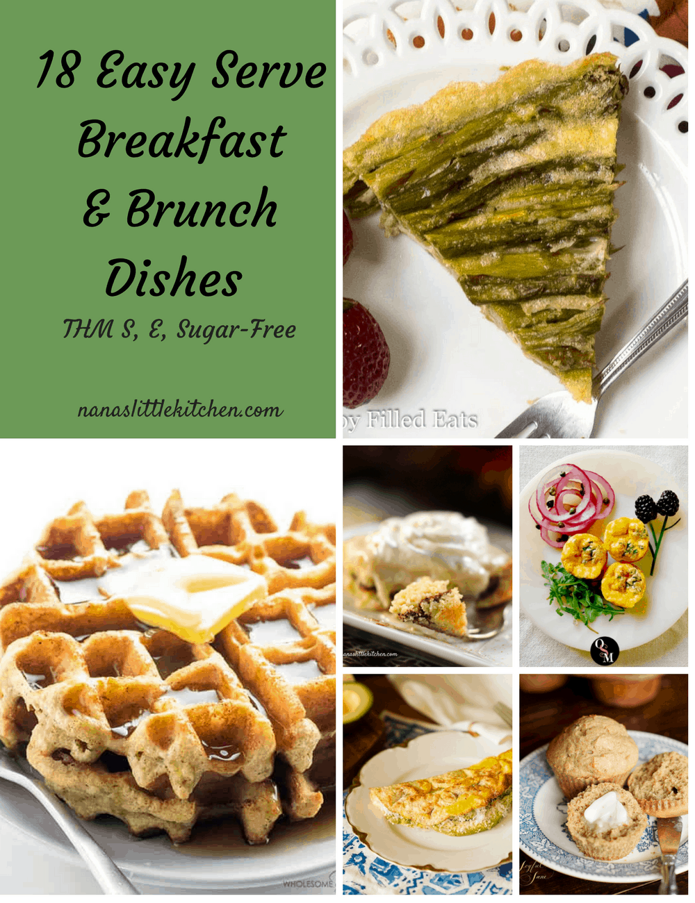 18 Easy Serve Breakfast and Brunch Dishes THM S E