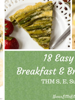 18 Easy Serve Breakfast Dishes THM