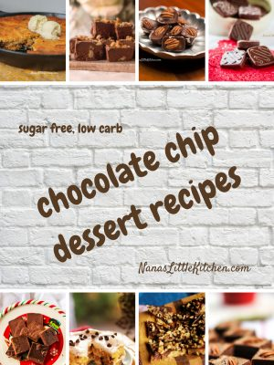 Sugar Free Chocolate Chip Recipes THM S Low Carb