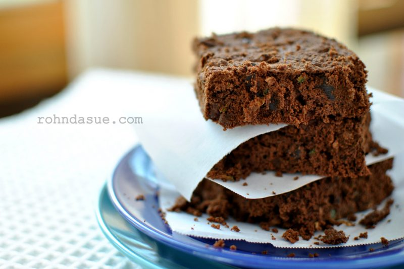 Rohndas Zucchini Brownies THM S Low Carb