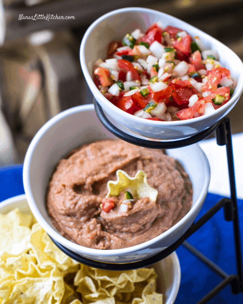 Copycat Fritos Bean Dip THM E Low Fat