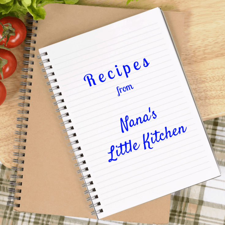 Nana's Little Kitchen Recipe Page