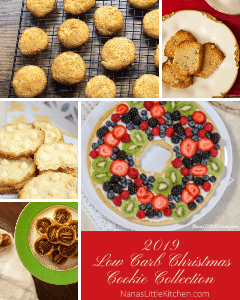 Low Carb Christmas Cookie Collection