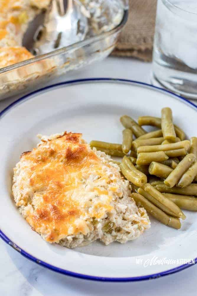 Easy Chicken Casserole with Green Chiles | My Montana Kitchen